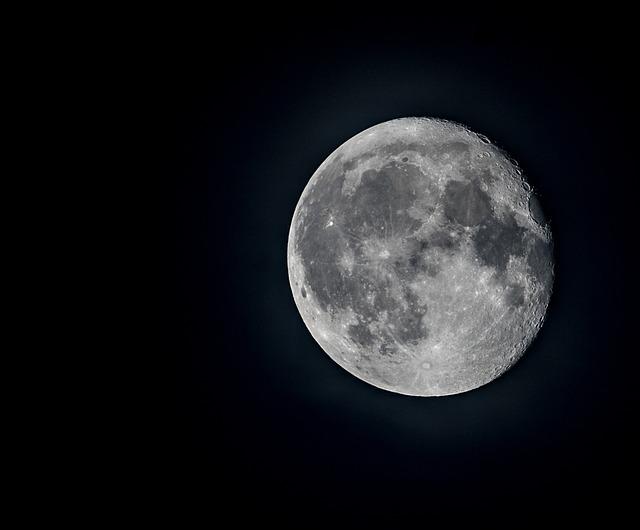 Moon, Moonlight, The Full Moon, Sky, The Sky, Finnish