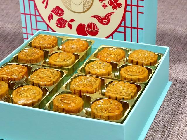 Mid-autumn Festival, Traditional, Mooncake, Mini