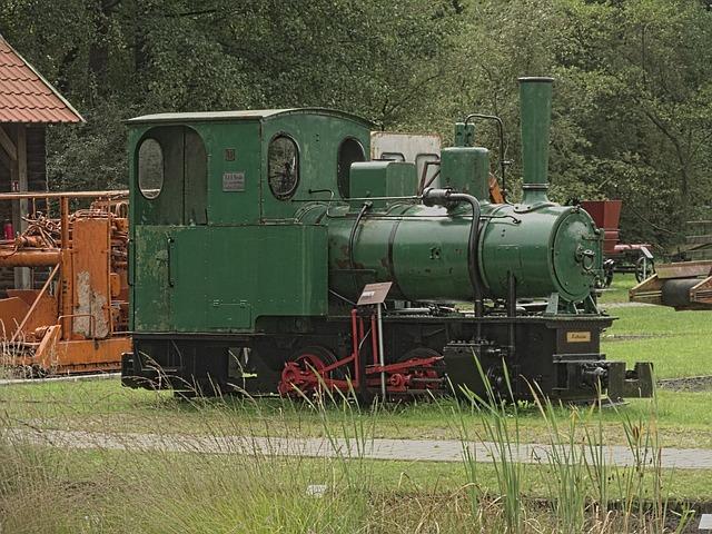 Train, Railway, Moor, Loco, Locomotive, Nostalgia