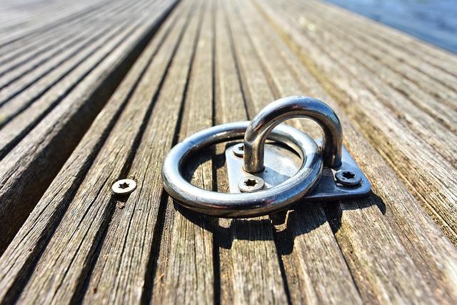Mooring Ring, Ring, Secure, Tie, Moor, Boat, Ship