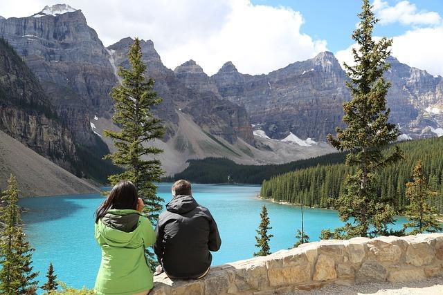 Lake, Moraine Lake, Moraine, Mountains, Snow, Glaciers