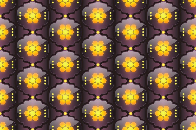 Pattern, Background, Yellow, Bright, Moroccan