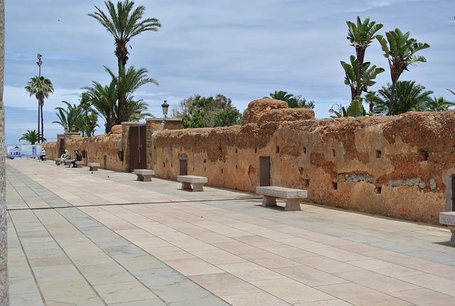Rabat, Wall, Historic, Morocco, Architecture, Design