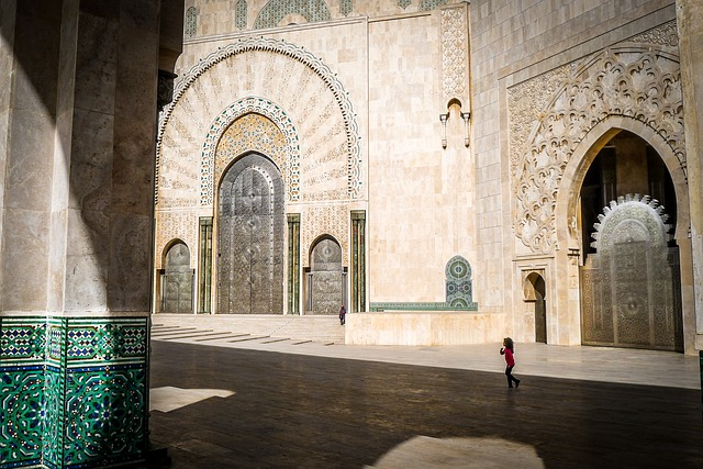 Mosque Hassan, Morocco, Architecture, Building
