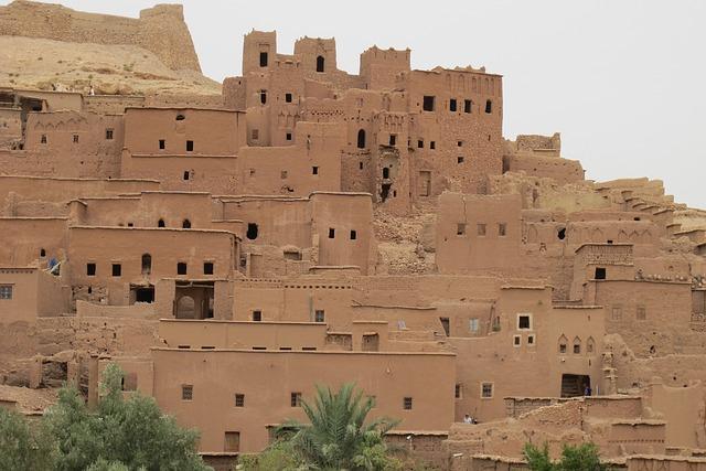 Ait Benhaddou, Old Town, Morocco