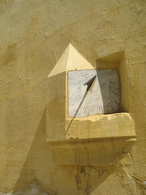 Morocco, Meknès, Time, Sundial