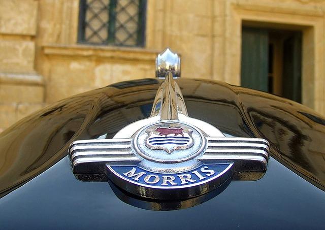 Morris Minor, Morris Car, Car Badge, Morris Minor 1000