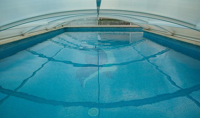 Swimming Pool, Mosaic, Dome, Swimming, Swim, Bathing