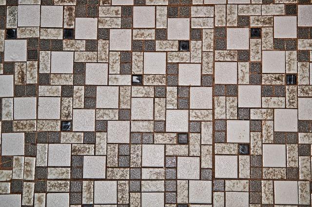 Mosaic, Pattern, Tile, Square, Textiles