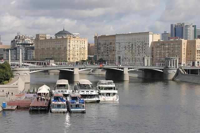 Moscow, Autumn, Water, Megalopolis, Travel, River