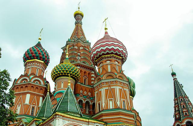 Moscow, San Basilio, Russia, Cathedral, Red Square