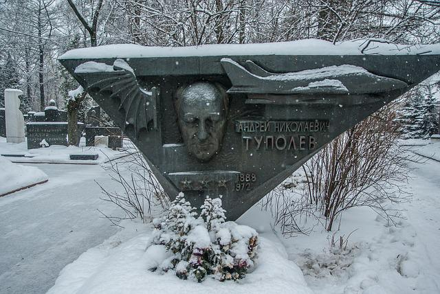 Moscow, Cemetery, Graves, Tupolev, Aviation