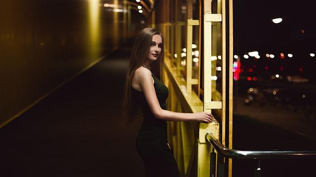 Nice Dress, Glamorous, Girl, Moscow, Russia, Fashion