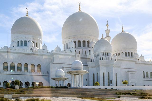 Abu Dhabi, Orient, Mosque