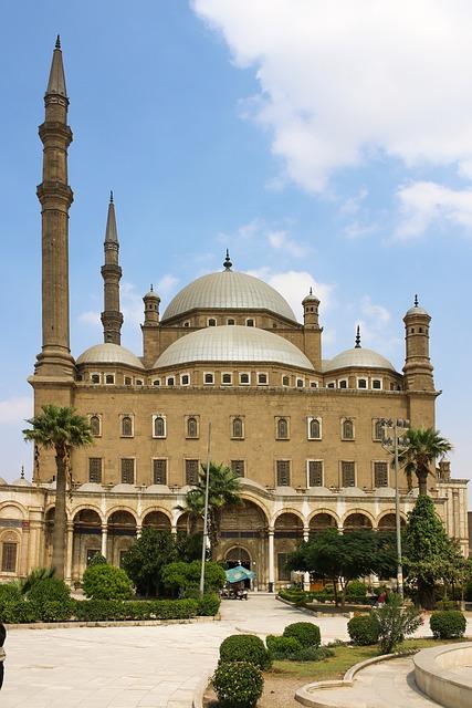 Mosque, Minaret, Cairo, Islam, Egypt, Buildings