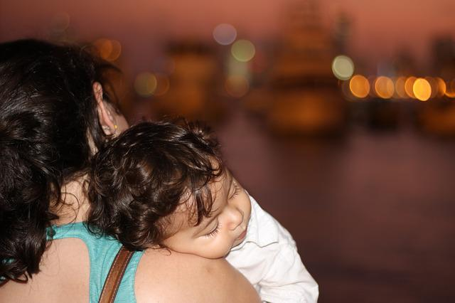 Mother, Baby, Spring, Sleeve, Cartagena
