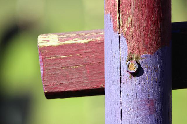 Wood, Pile, Screw, Mother, Cross, Wood Pile, Fence