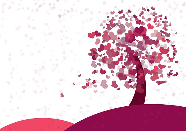 Heart, Tree, Valentine's Day, Mother's Day, Love