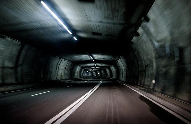 Dark, Guidance, Motion, Road, Speed, Tube, Tunnel