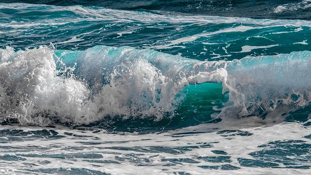 Water, Surf, Sea, Wave, Ocean, Nature, Liquid, Motion