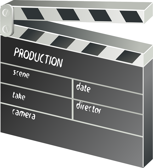 Clapper-board, Film, Movie, Motion Picture