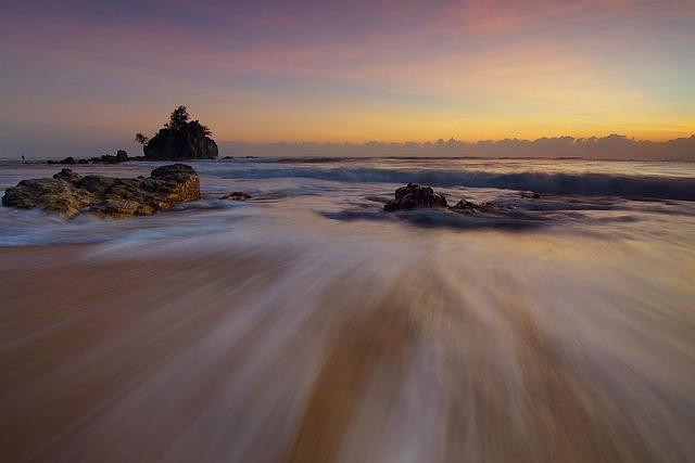 Motion, Sea, Ocean, Beach, Summer Beach, Seaside