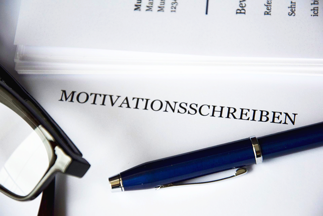 Motivation, Application, Cover Letter