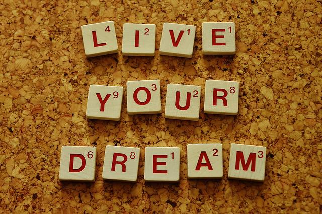 Live Your Dream, Motivation, Incentive, Wishes