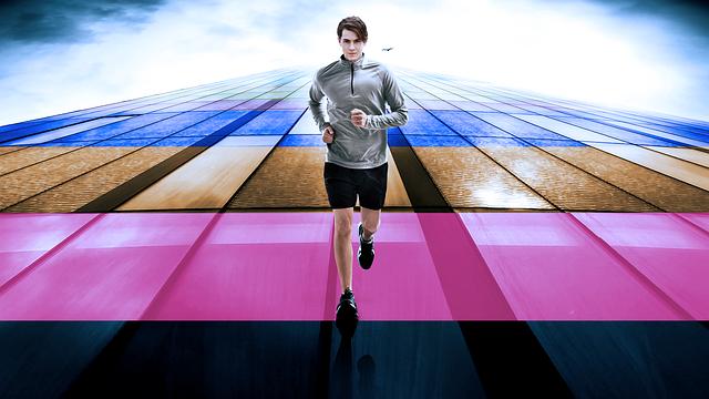 Active Walking, Running, Motivational, Active, Design