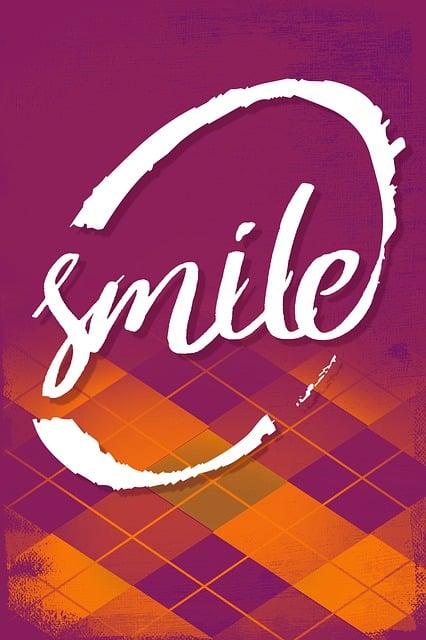 Poster, Motivational Poster, Advice, Smile, Argyle