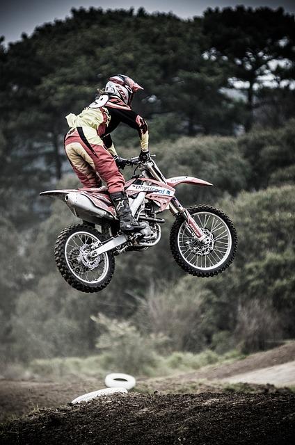 Dirt Bike, Motocross, Bike, Motorcycle, Exhaust, Metal