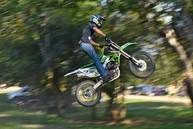 Bike, Hurry, Wheel, Helmet, Race, Motocross, Dirtbike