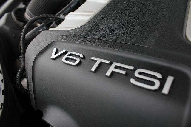 V6, Engine, Tfsi, Technology, Car, Motor, Auto, Vehicle