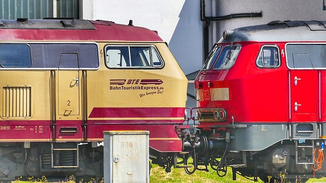 Train, Transport System, Motor, Auto