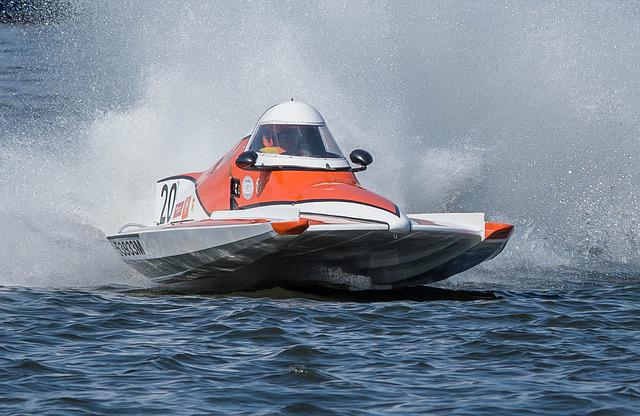 Powerboat, Racing Boat, Motor Boat Race, Waters
