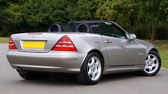 Car, Mercedes, Slk, Transport, Auto, Motor, Luxury
