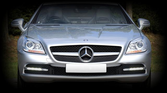 Car, Mercedes, Front, Transport, Auto, Motor, Luxury