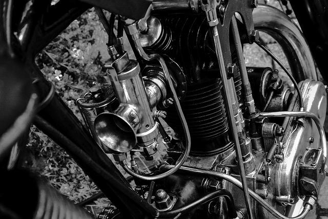Motor, Motorcycle, Carburetor, Technology, Vehicle