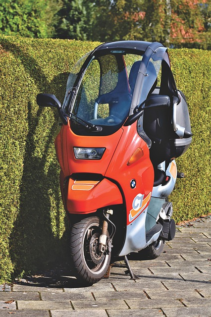 Motor Scooter, Bmw, C1, Roller, Motorcycle, Vehicle