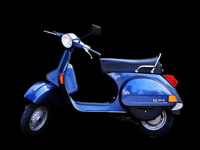 Vespa, Piaggio, Roller, Motor Scooter, Cult, Flitzer