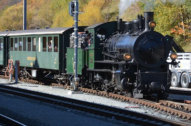 Train, Railway, Motor