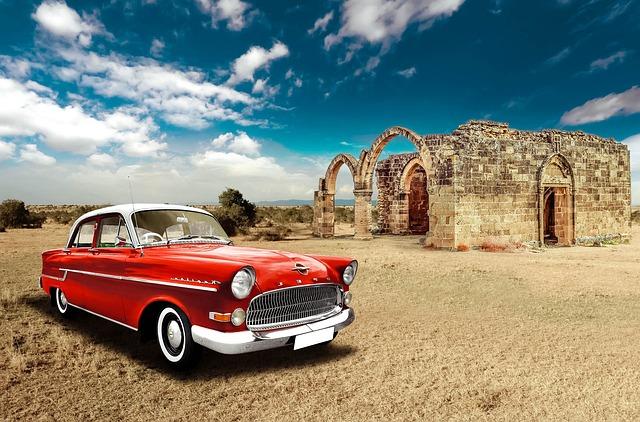 Car, Vintage, Vehicle, Retro, Motor, Transport, Engine