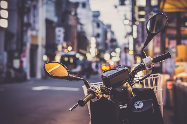 Scooter, Asia, Asian, Journey, Motorbike, Motorcycle