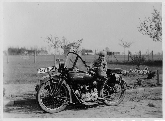 Motorcycle, Mabeco, Oldtimer, Old Motorcycle, 750 Cc