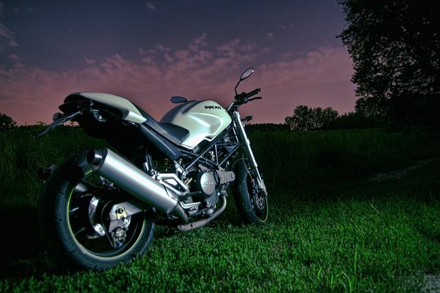 Ducati, Moto, Motorcycle, Night, Ride, Vehicle