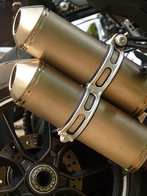 Exhaust, Exhaust Pipes, Motorcycle, Metal