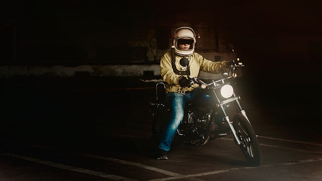 Biker, Motorcycle, Germošlem, Transport, Garage, Man