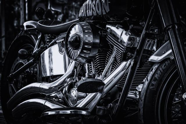 Harley Davidson, Motorcycle, Chrome, Gloss, Harley