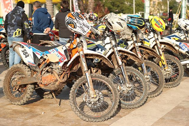 Enduro, Motorbike, Motocross, Motorcycle, Sports