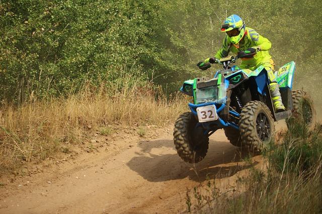 Cross, Atv, Quad, Motorsport, Motocross, Motocross Ride